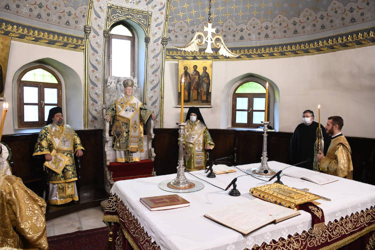 Η Θρονική Εορτή του Οικουμενικού Πατριαρχείου (ΦΩΤΟ)
