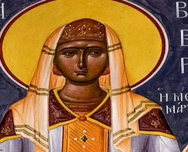 Κεκλεισμένων των θυρών η Πανήγυρις Αγίας Βαρβάρας στα Τρίκαλα