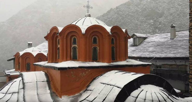 Άγιον Όρος: Εκοιμήθη ο γέρων Συμεών ο Διονυσιάτης