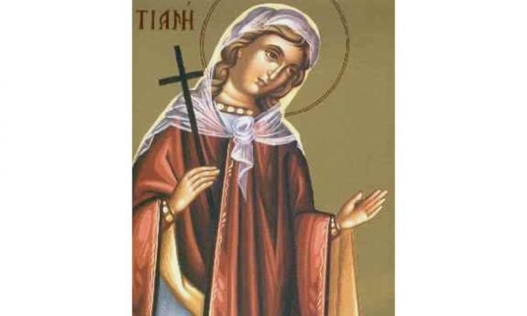 Εορτή Αγίας Τατιανής της Μάρτυρος