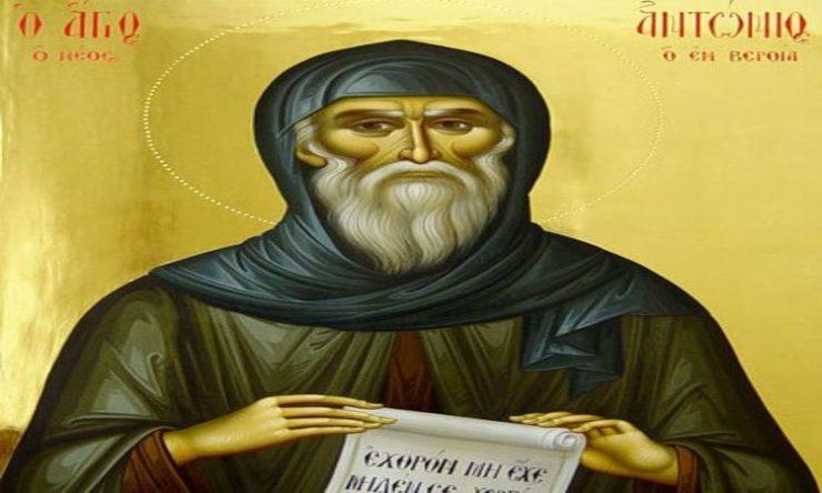 Εορτή Οσίου Αντωνίου του νέου του θαυματουργού