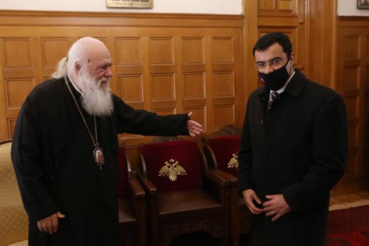 Συναντήσεις του Αρχιεπισκόπου Αθηνών