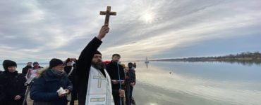 Μέγας Αγιασμός των υδάτων στη λίμνη Μπάλατον της Ουγγαρίας