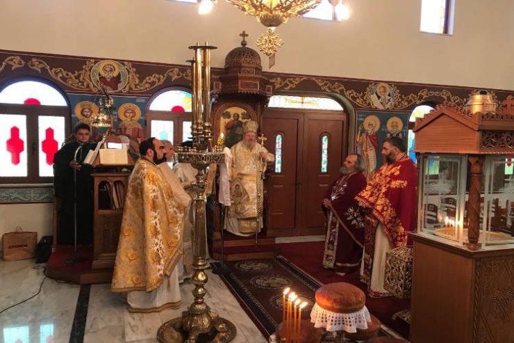 Εορτή Οσίου Ιωάννου του Καλυβίτου στη Μητρόπολη Κυδωνίας