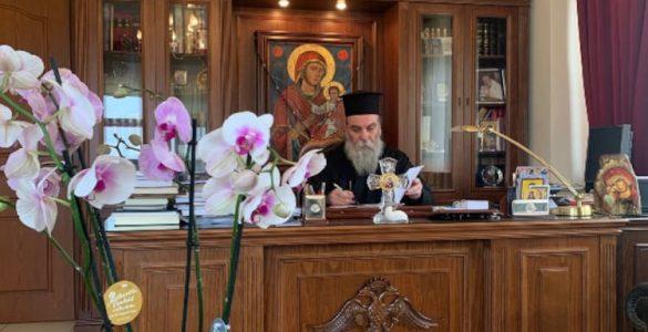 Κισάμου Αμφιλόχιος: Οι ακοίμητες προσευχές των μοναχών και το κομποσκοίνι τους κρατούν αναμμένο το καντήλι της ελπίδας και της πίστης