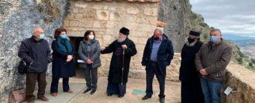 Προς συζήτηση η αποκατάσταση της Ιστορικής Μονής Βράχου Νεμέας