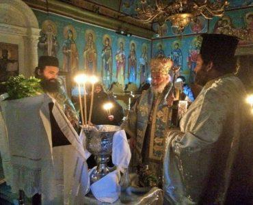 Θεοφάνεια κατά το αγιορείτικο τυπικό στη Μονή Αγίας Αικατερίνης Καλύμνου