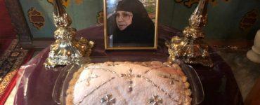 Μνημόσυνο μακαριστής Γερόντισσας Θεοκτίστης στη Μονή Αγίου Ιωάννου Χρυσοστόμου Νάξου