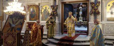 Πατρών Χρυσόστομος: Ο Σταυρός του Πρωτοκλήτου, θησαυρός των Πατρών χαριτόβρυτος…