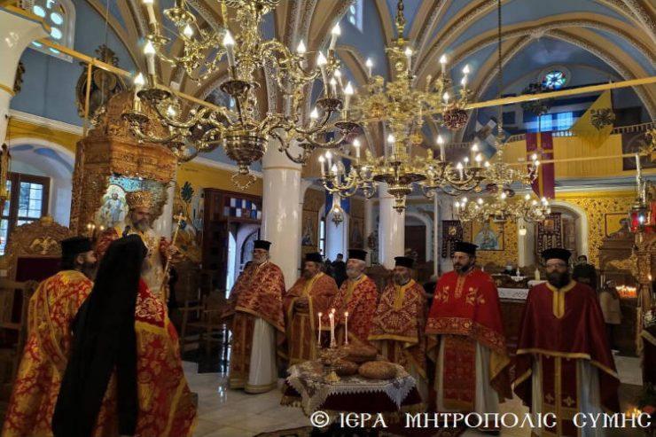 Η Εορτή του Αγίου Αθανασίου στη Σύμη