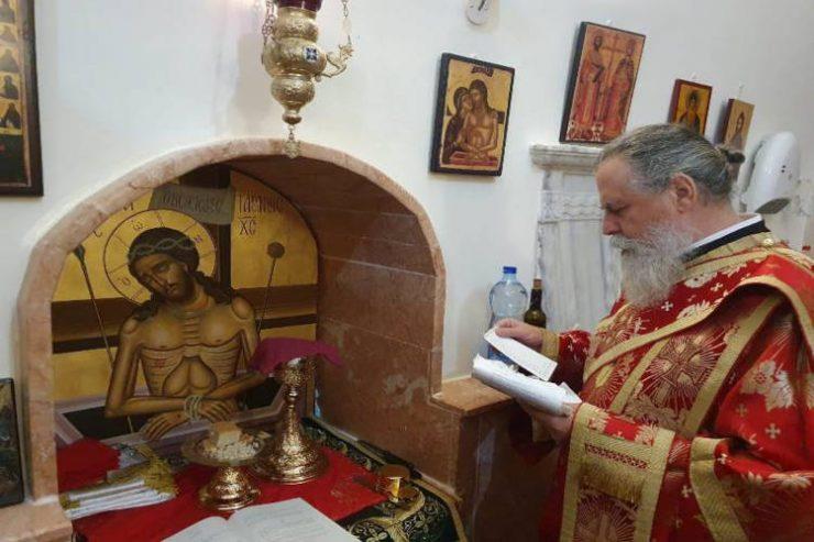 Εορτή Αγίου Μοδέστου στο Πατριαρχείο Ιεροσολύμων