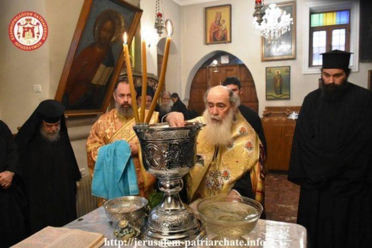 Η Παραμονή των Θεοφανείων στο Πατριαρχείο Ιεροσολύμων