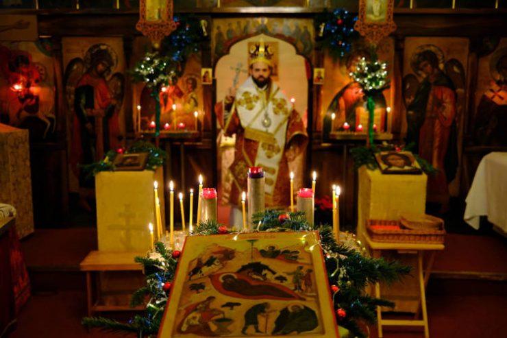 Χριστούγεννα στον Άγιο Νικόλαο Βουλώνης