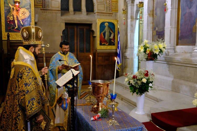 Οι Έλληνες του Παρισιού εόρτασαν τα Θεοφάνεια (ΦΩΤΟ)