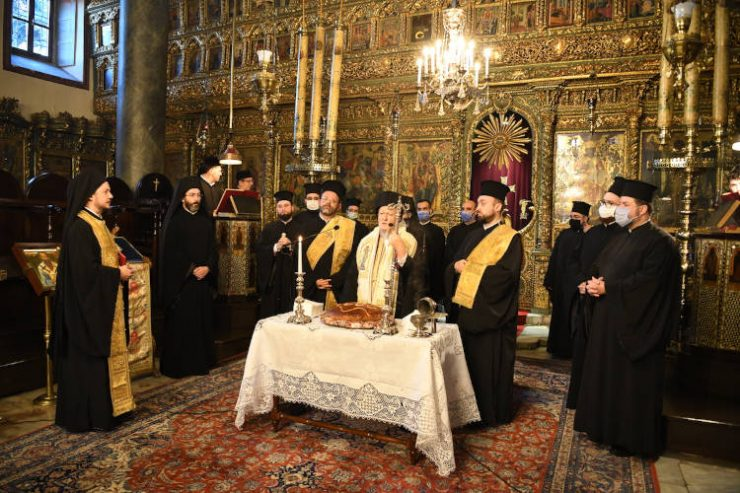 Η Πρωτοχρονιά στο Οικουμενικό Πατριαρχείο (ΦΩΤΟ)
