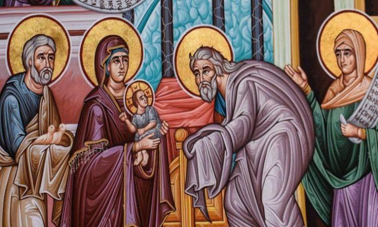 Πανήγυρις της Υπαπαντής στα Τρίκαλα Αγρυπνία Υπαπαντής του Κυρίου στο Πήλιο Υπαπαντή του Κυρίου ημών Ιησού Χριστού