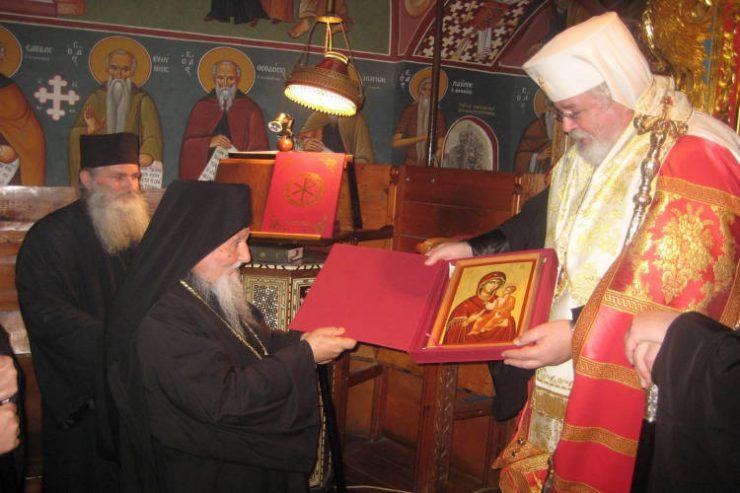 Όταν ο Αρχιεπίσκοπος Φιλλανδίας επισκέφτηκε τη Μονή του Σταυροβουνίου