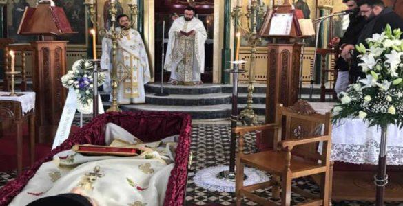 Εκδημία ιερέως Ματθαίου Ζηδιανάκη