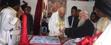 Εγκαίνια Ιερού Ναού Αγίας Βαρβάρας στη Μητρόπολη Κινσάσας