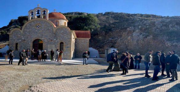 Θεία Λειτουργία στο προσκύνημα του Οσίου Νικηφόρου του Λεπρού για την πανδημία