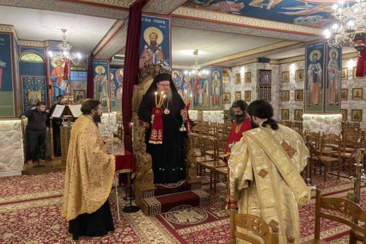 Η Εορτή του Αγίου Δαμιανού στη χιονισμένη Λάρισα