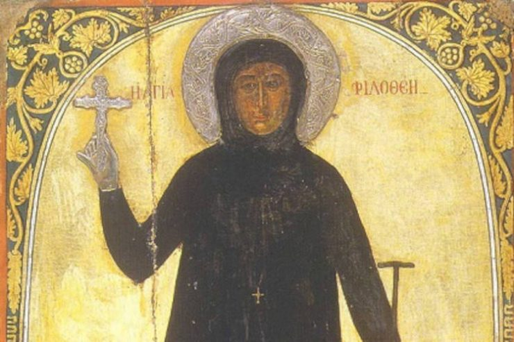 Μάνης Χρυσόστομος: Αγία Φιλοθέη - Όλα για τον Χριστό