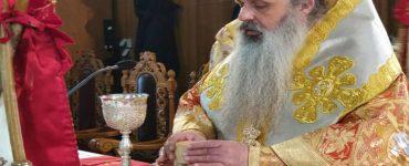 Ο Μετεώρων Θεόκλητος στον Ιερό Ναό Οσίων Μετεωριτών Πατέρων Καλαμπάκας