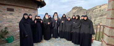 Νέα Ηγουμένη στην Ιερά Μονή Ρουσάνου Μετεώρων