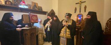 Κουρά νέου μοναχού στη Μητρόπολη Ταμασού