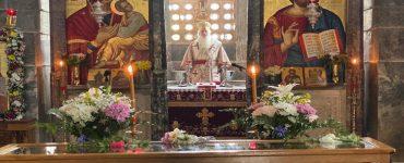 Εορτή Οσίου Λουκά στη Μητρόπολη Θηβών