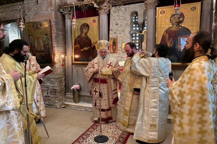 Χειροτονία Διακόνου στην Ιερά Μονή Οσίου Λουκά