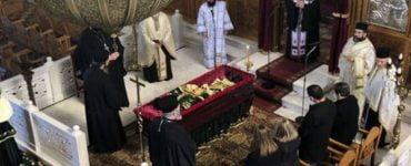 Εξόδιος ακολουθία συνταξιούχου ιερέως Κωνσταντίνου Νικολάου
