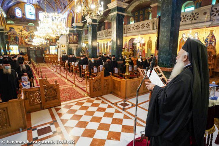 Τριπλή ιερατική σύναξη στη Μητρόπολη Βεροίας