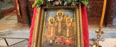 Η Εορτή των Τριών Ιεραρχών στο Πατριαρχείο Ιεροσολύμων