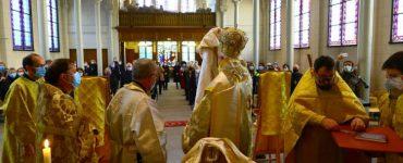 Χειροτονία Πρεσβυτέρου στο Ναό του Αποστόλου Ματθαίου Παρισίων