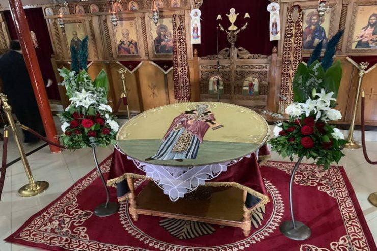 Κάτω από πρωτόγνωρες καταστάσεις εορτάστηκε ο Άγιος Πολύκαρπος Μενεμένης