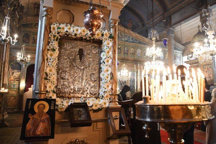 Ο Οικουμενικός Πατριάρχης στον Άγιο Χαράλαμπο Βεβεκίου