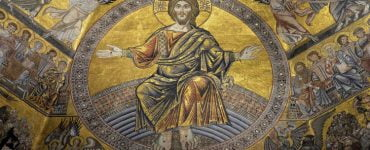 Ο Χριστός βρίσκεται ανάμεσα στους πιστούς...