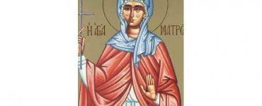 Εορτή Αγίας Ματρώνας της εν Θεσσαλονίκη