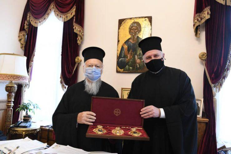 Το δώρο των πιστών της Αμερικής στον Οικουμενικό Πατριάρχη