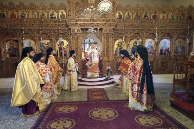 Η Εορτή των αγίων Τεσσαράκοντα Μαρτύρων στη Μονή Δαδιάς