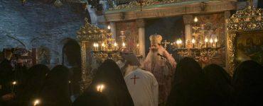 Κουρά νέας μοναχής στη Μονή Παντοκράτορος ΤΑΩ Πεντέλης