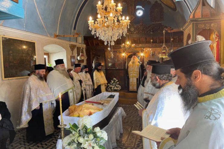 Σε κλίμα συγκίνησης τελέσθηκε η Εξόδιος Ακολουθία του ιερέως Εμμανουήλ Τζαννιδάκη