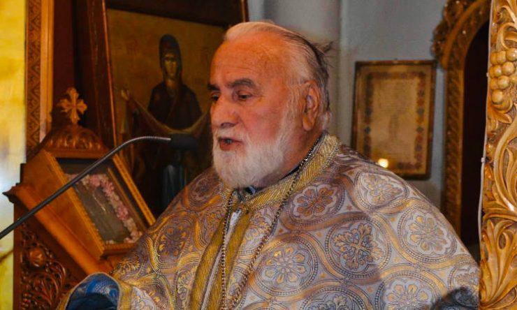 Εκδημία ιερέως Εμμανουήλ Μπλαζάκη