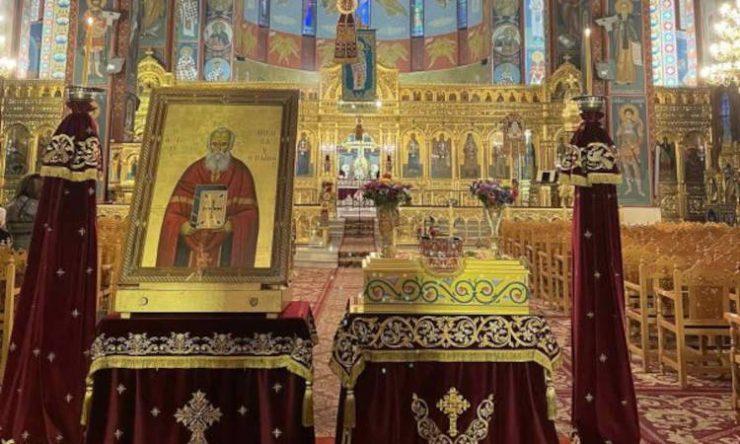 Εορτή Αγίου Νικολάου του Πλανά στη Λάρισα