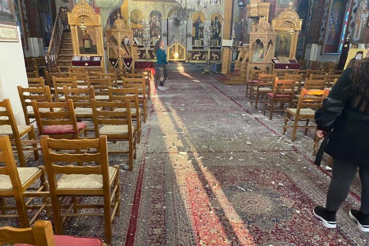 Φωτογραφίες από την καταστροφή σε Κουτσόχερο και Αμπελώνα της Μητροπόλεως Λαρίσης