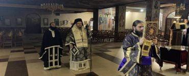 Πρώτη Προηγιασμένη Θεία Λειτουργία στη Λάρισα