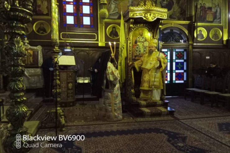 Η Κυριακή της Ορθοδοξίας στη Μονή Φανερωμένης Λευκάδος