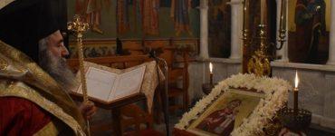 Μάνης Χρυσόστομος: Η Παναγία να μας σκέπει όλους μας