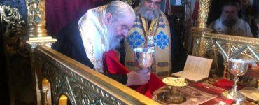 Ενθρόνιση του νέου Ηγουμένου της Μονής Σταυροβουνίου